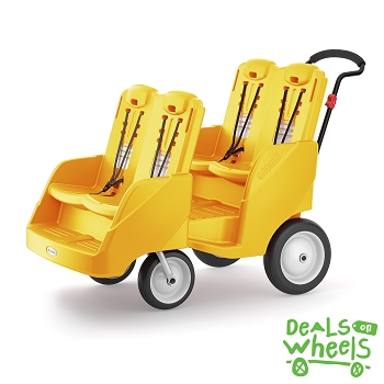 Gaggle Buggy Stroller (Up to 4 Children) - Yellow