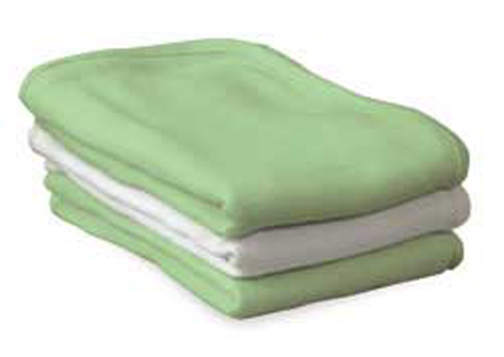 ThermaSoft 100% Cotton Knit Thermal Blankets for Foundations Full and Compact Cribs - Set of 6