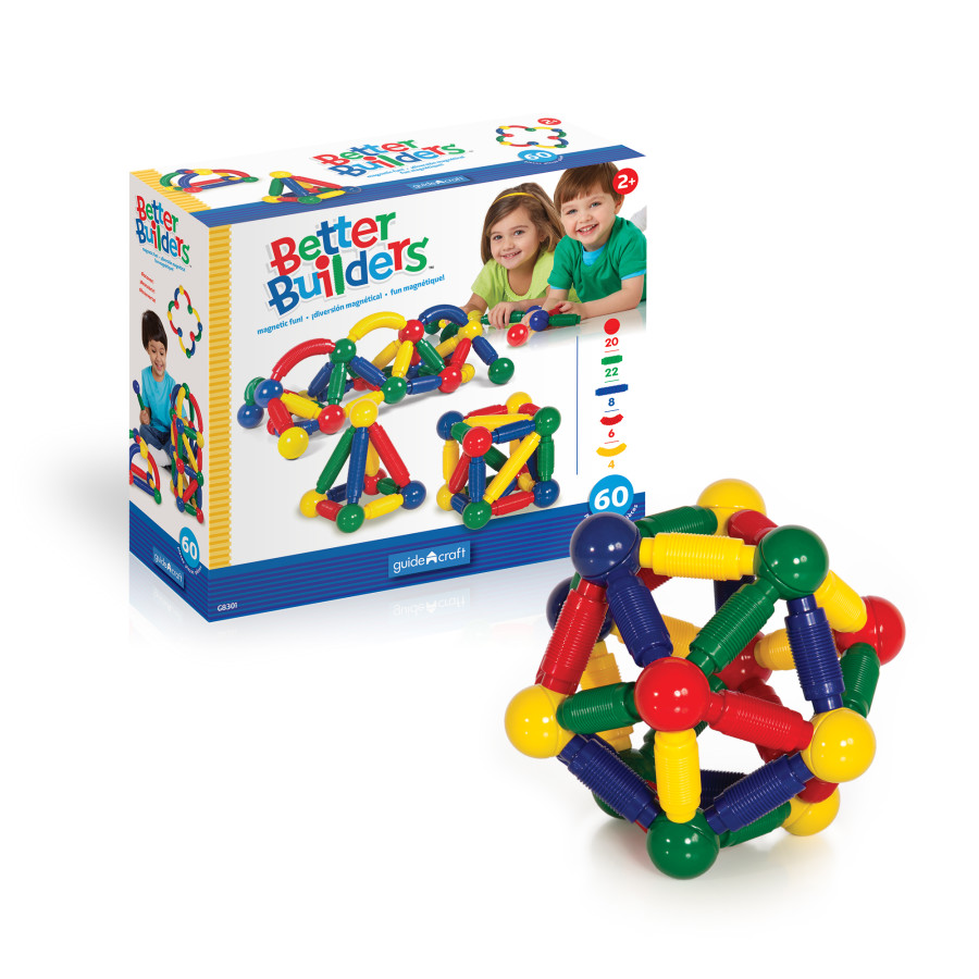 Better Builders - 60 Piece Set