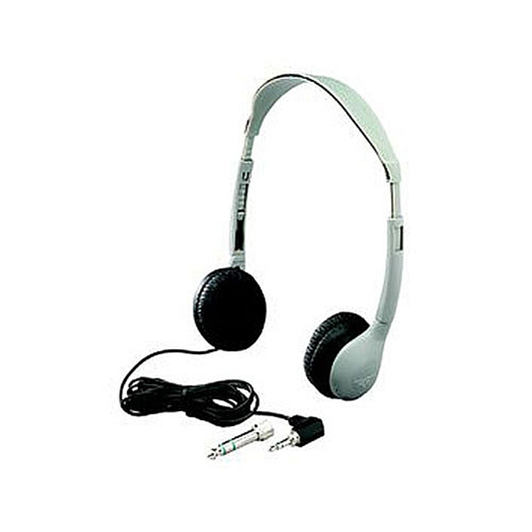 SchoolMate Personal Mono-Stereo Headphone, Leatherette