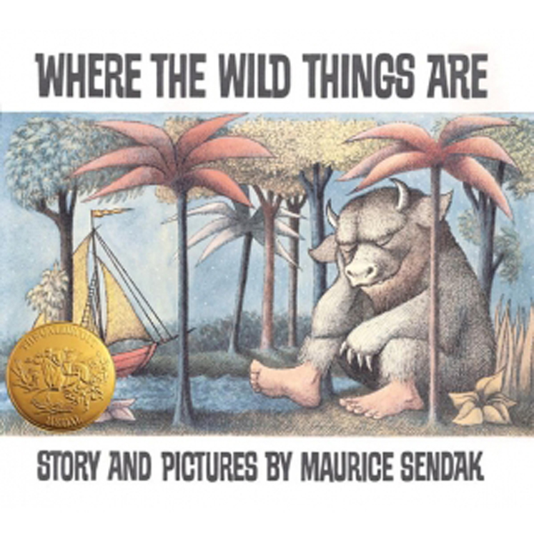 Where the Wild Things Are, Hardcover Book