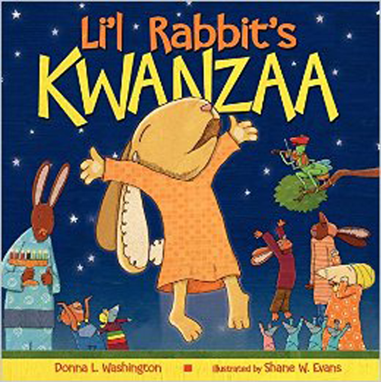Li'l Rabbit's Kwanzaa, Hardcover Book.