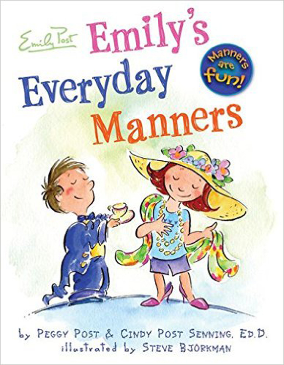 Emily's Everyday Manners, Hardcover Book