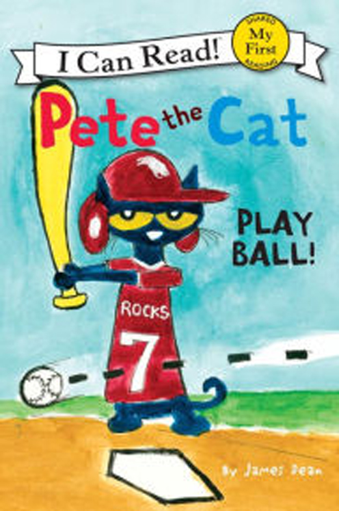 Pete the Cat Play Ball Hardcover Book