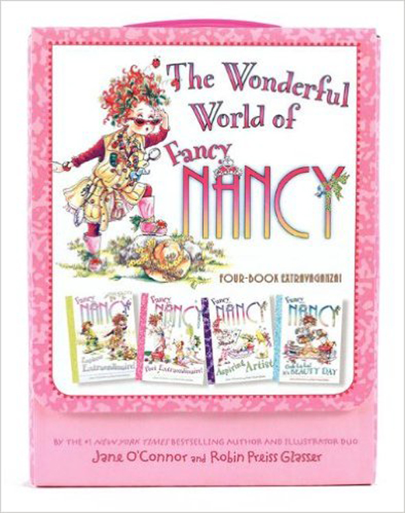 Fancy Nancy: The Wonderful World of Fancy Nancy, 4 Paperback Favorites
