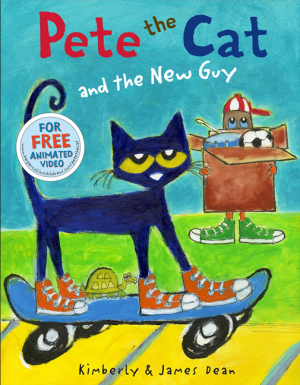 Pete the Cat and the New Guy (Hardcover)
