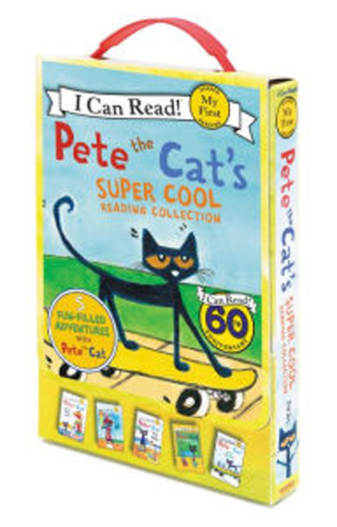 Pete the Cat's Super Cool Reading Collection, 5 Paperback Favorites