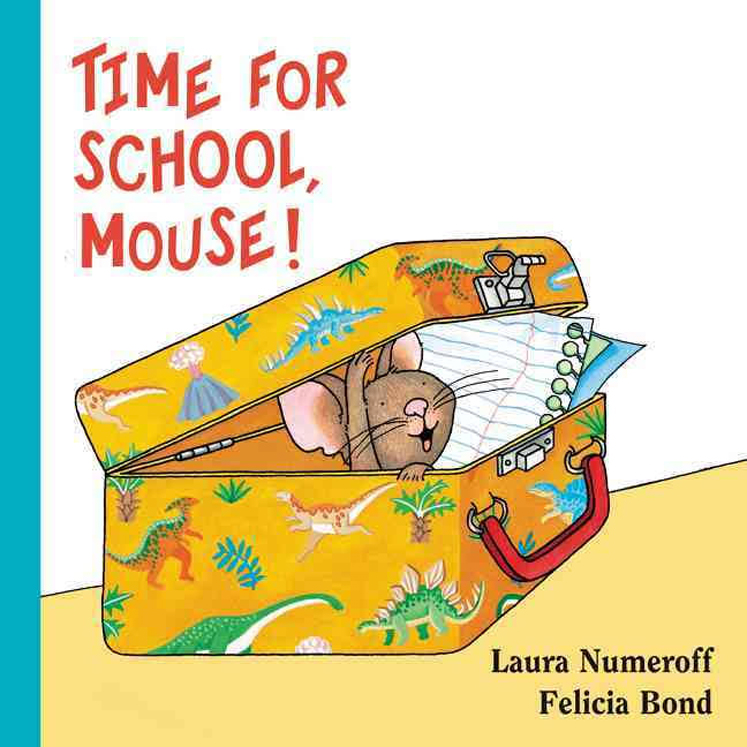 Time for School Mouse! Lap Edition Board Book