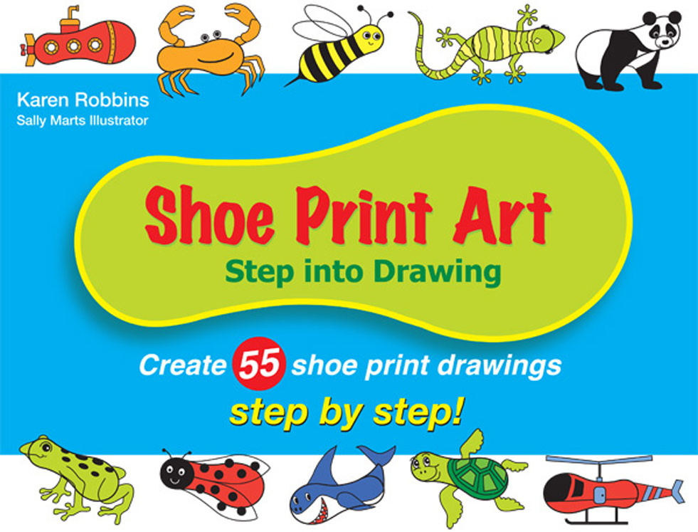 Shoe Print Art: Step Into Drawing Step by Step