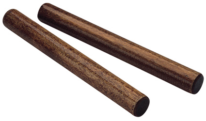 Hardwood Claves, Pair