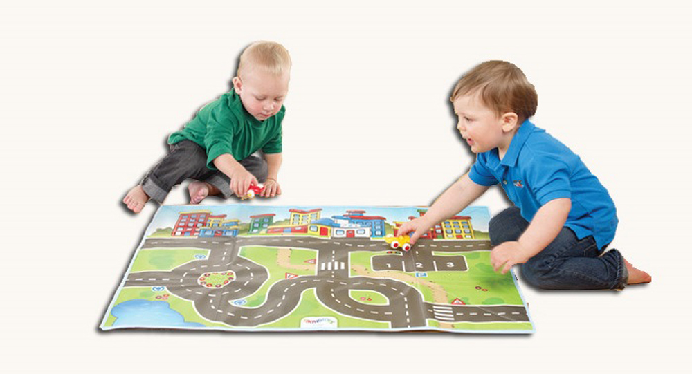 Play Mat with Cars