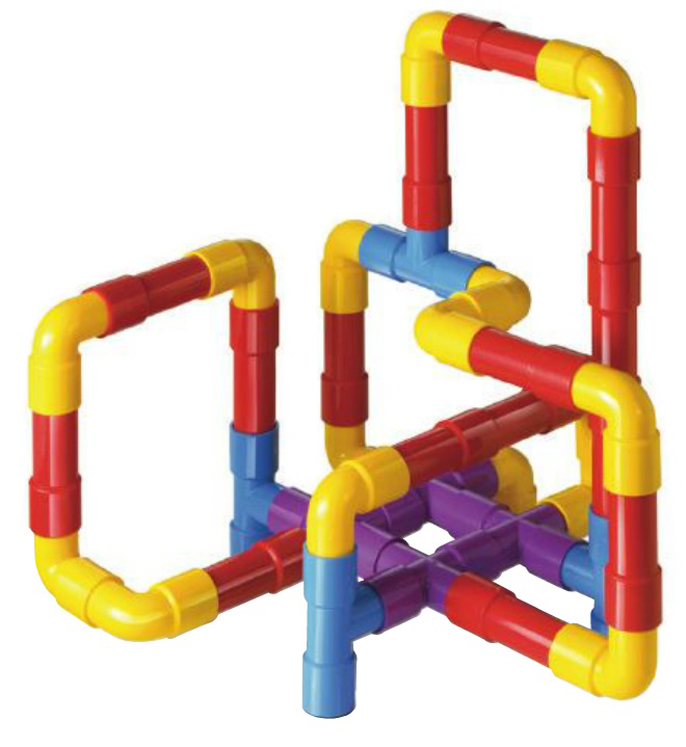Tubation Construction Toy - 40 Pieces