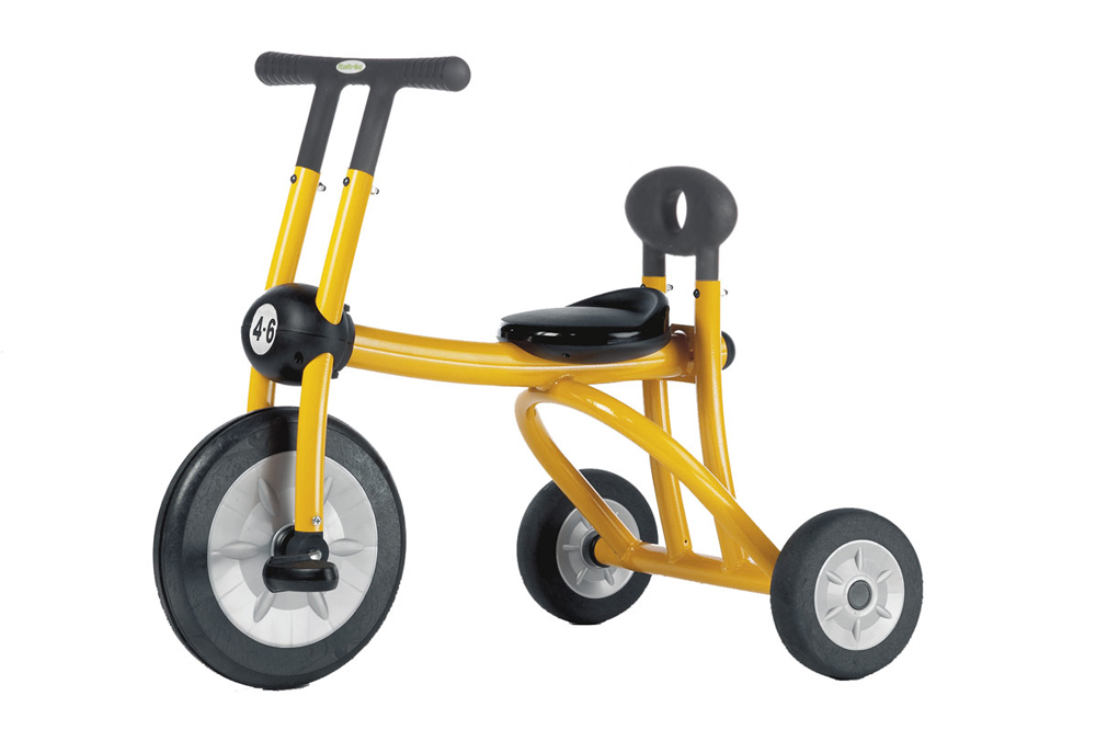 ItalTrike Yellow Tricycle