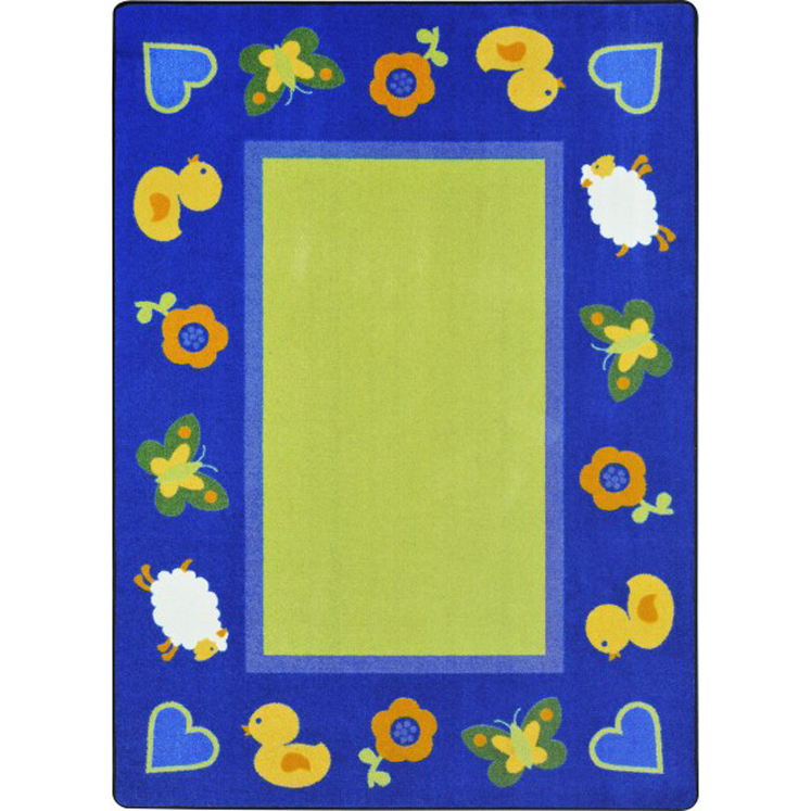 Green Space Rug - Multiple Sizes & Shapes