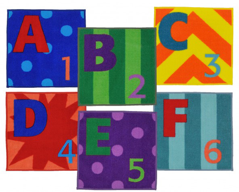 Letters & Numbers Rugs - Set of 26