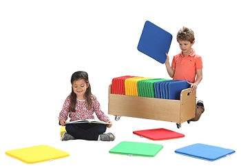 Kalocolor Square Cushions and Tuf 2 Cart Set of 32