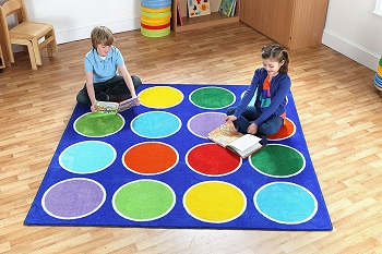 Kalocolor Circles Placement Carpet