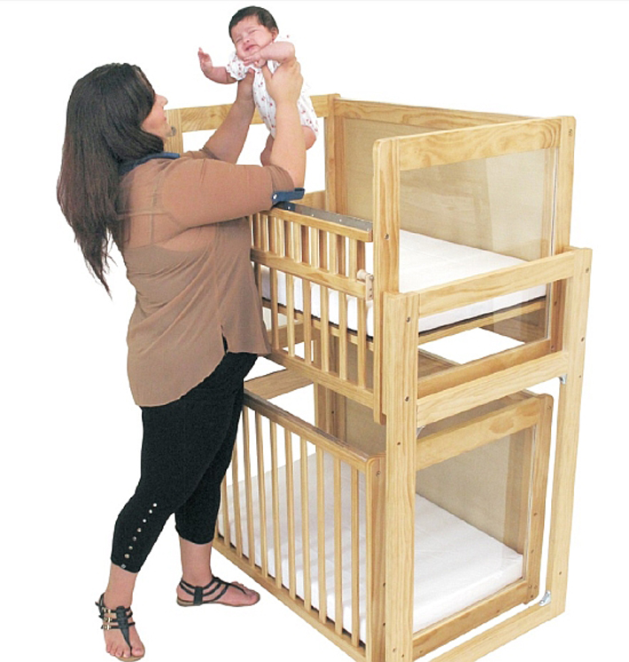 Modular Stackable Cribs Window Crib System