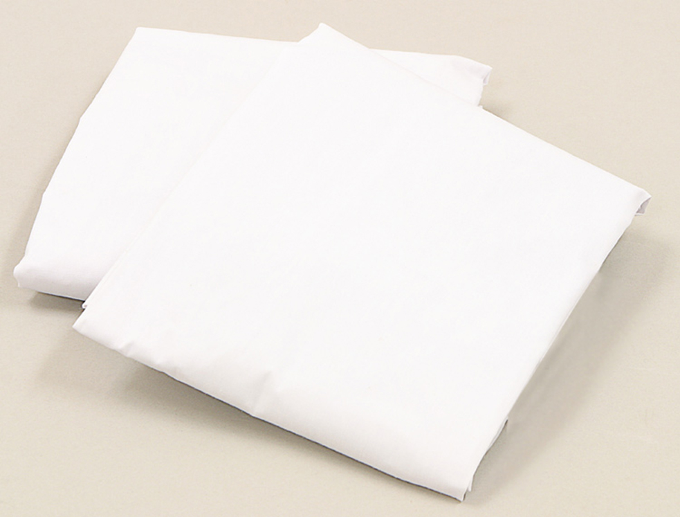 LA Baby Poly-Cotton Fitted Sheets for Full Sized Cribs - 6 Pack
