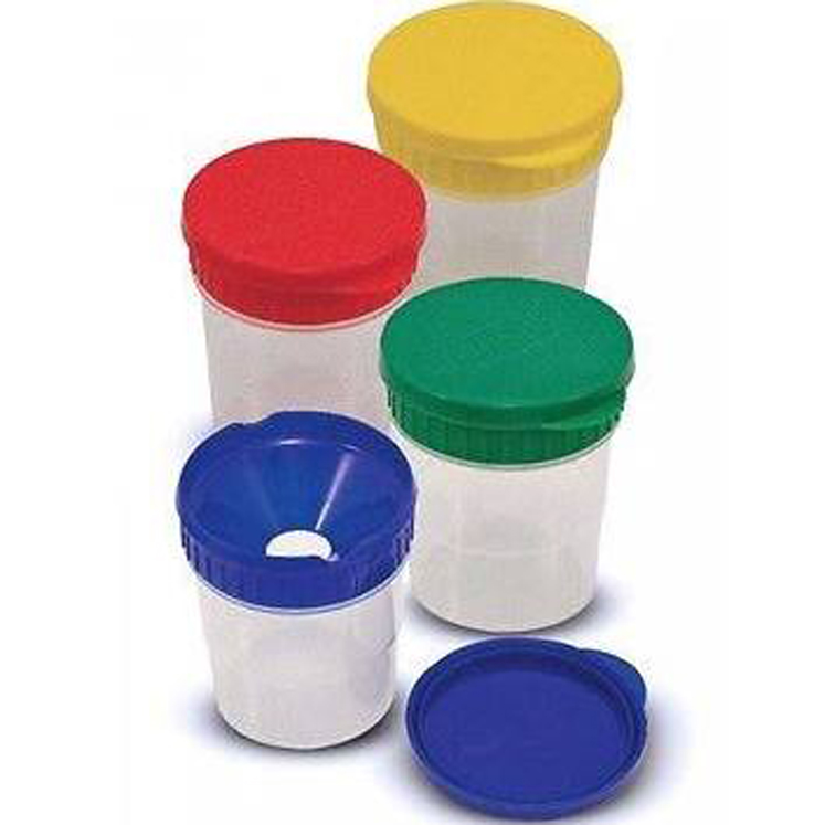 Spillproof Paint Cups
