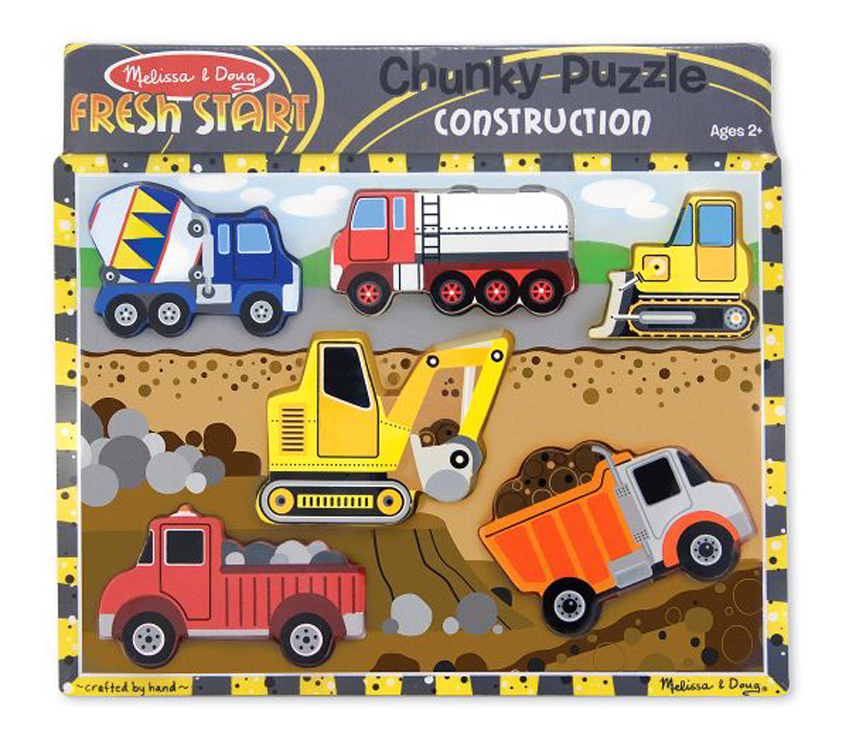Construction - Chunky Puzzle