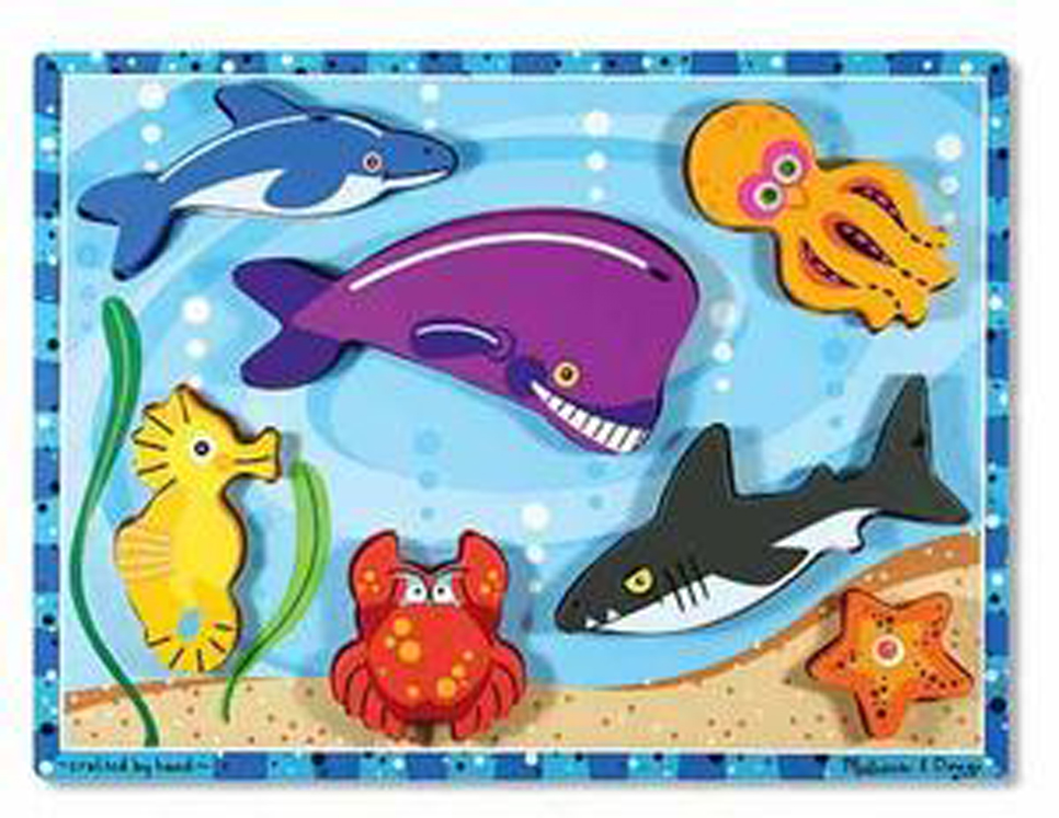 Sea Creatures - Chunky Puzzle