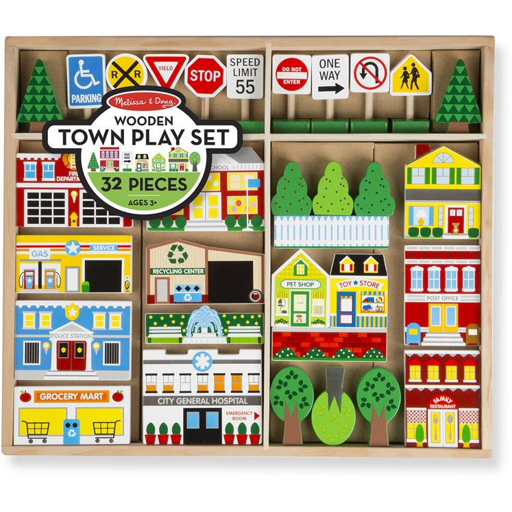 Wooden My Town - Accessory Set