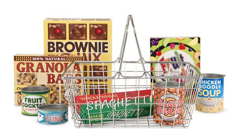 Let's Play House! Grocery Basket