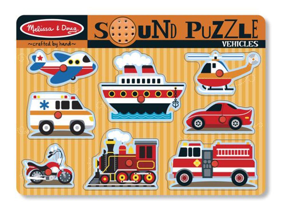 Vehicles - Sound Puzzle