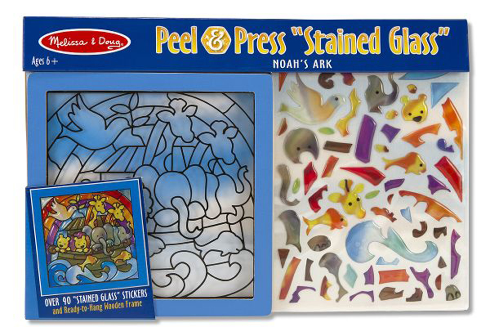 Noah's Ark Stained Glass Kit