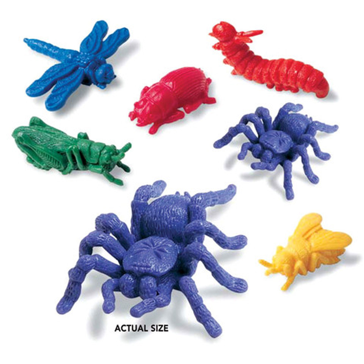 Backyard Bugs Counters - Set of 72