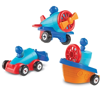 1-2-3 Build It™ Car-Plane-Boat