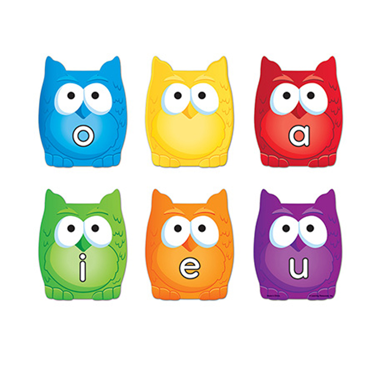Learning Essentials Magnetic Vowel Owls