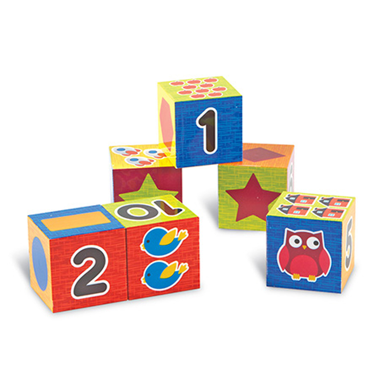 Learning Essentials Numbers & Shapes Puzzle Blocks