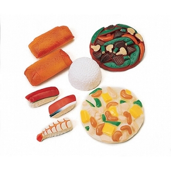 Oriental Food - Set of 8