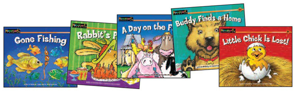 Rising Readers Leveled Books, Animal Adventures, 12 Titles