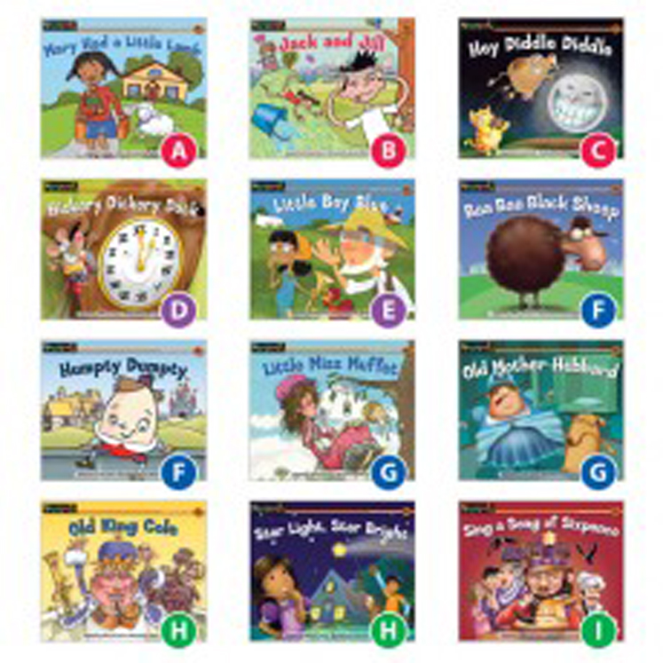 Rising Readers Nursery Rhyme Tales Set 1 Single-Copy Set