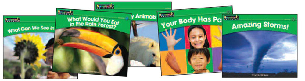 Rising Readers Leveled Books, Science Set, Complete Set Vol. 2, Levels E-I