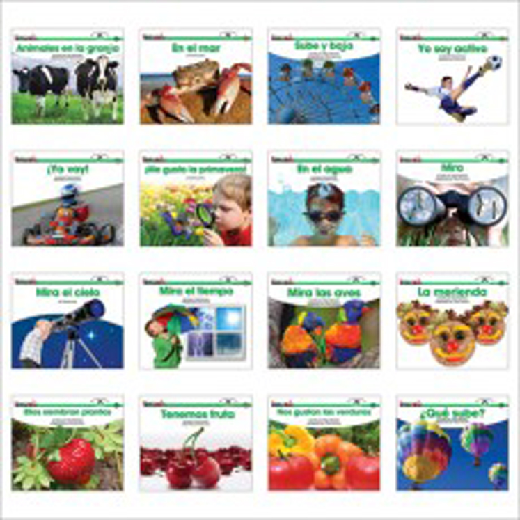 En Espanol: Sight Word Readers Science Single-Copy Set (1 Each of 16 Titles)
