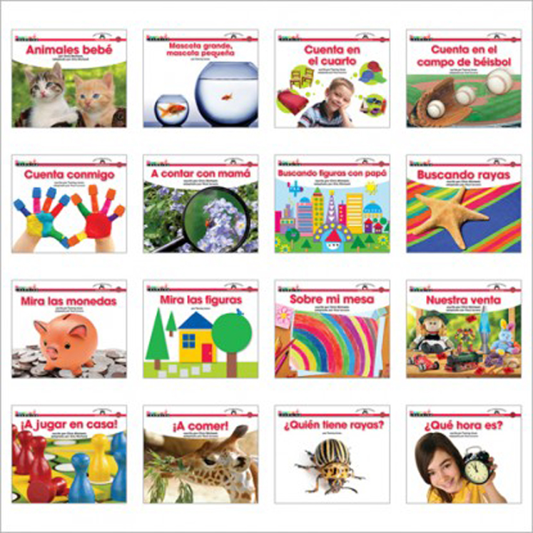 En Espanol: Sight Word Readers Math Single-Copy Set (1 Each of 16 Titles)