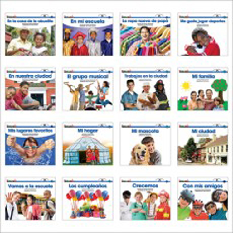 En Espanol: Sight Word Readers Social Studies Single-Copy Set (1 Each of 16 Titles)