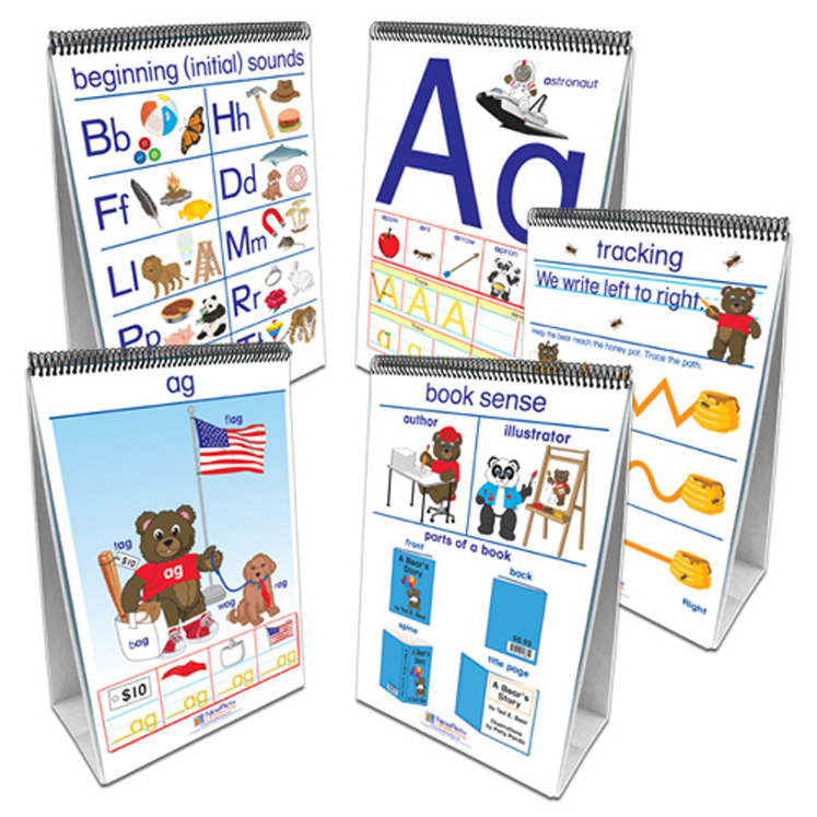 Early Childhood ELA Readiness - Flip Charts - Set of all 5