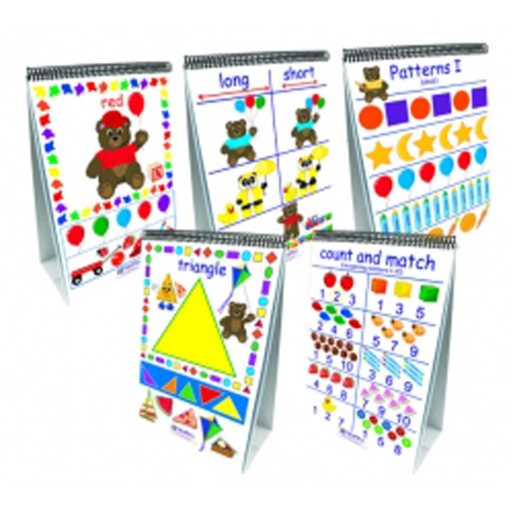 Early Childhood Math Readiness Flip Charts - Set of all 7