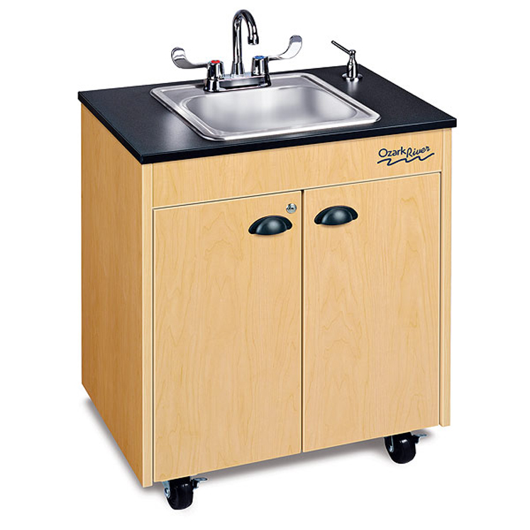Lil Premier 1 Chid Size Hot Water Portable Sink with Stainless Basin