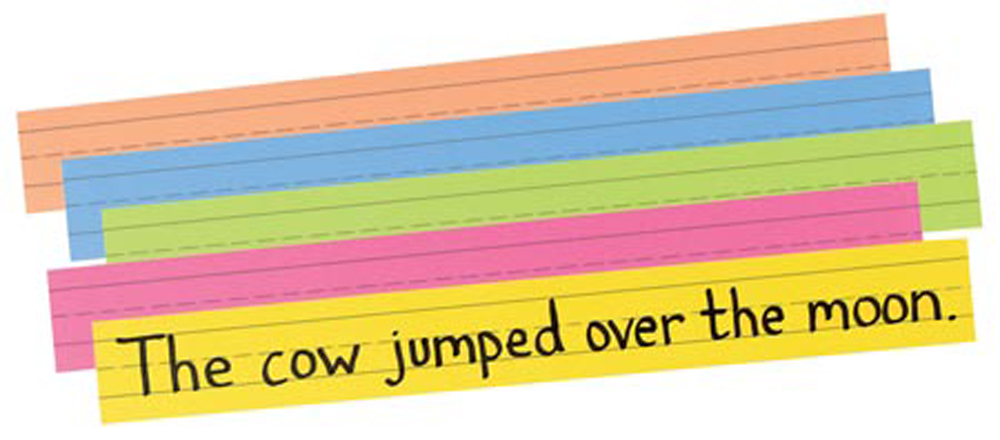 Pacon Ruled Sentence Strips- 3