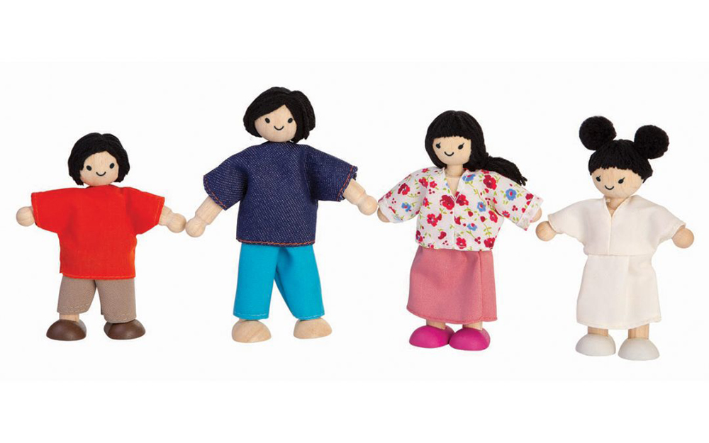 Doll Family Asian