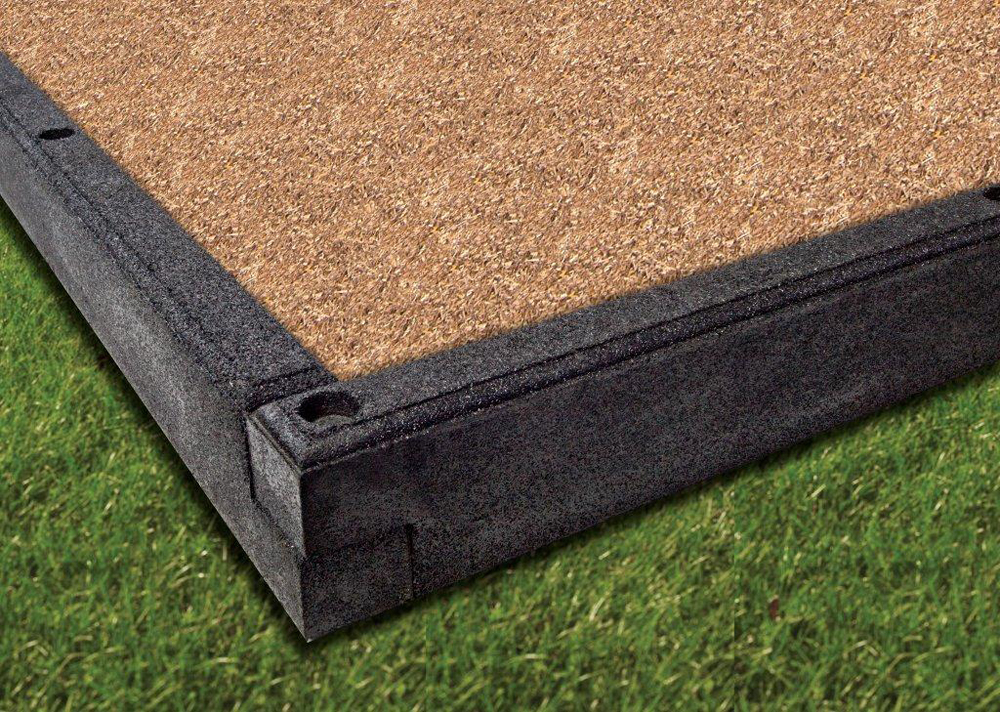 DynaCurb Rubber Border - Size Options - Stakes Included
