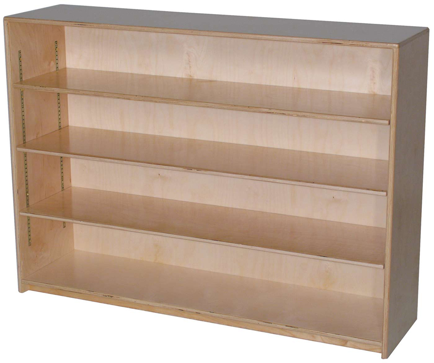 Mainstream Single Storage Unit with 3-Adjustable Shelves, 48''w x 12''d x 36''h