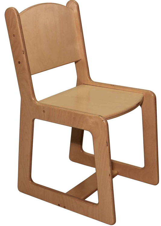 Mainstream Kindergarten Chair, 14''h Seat