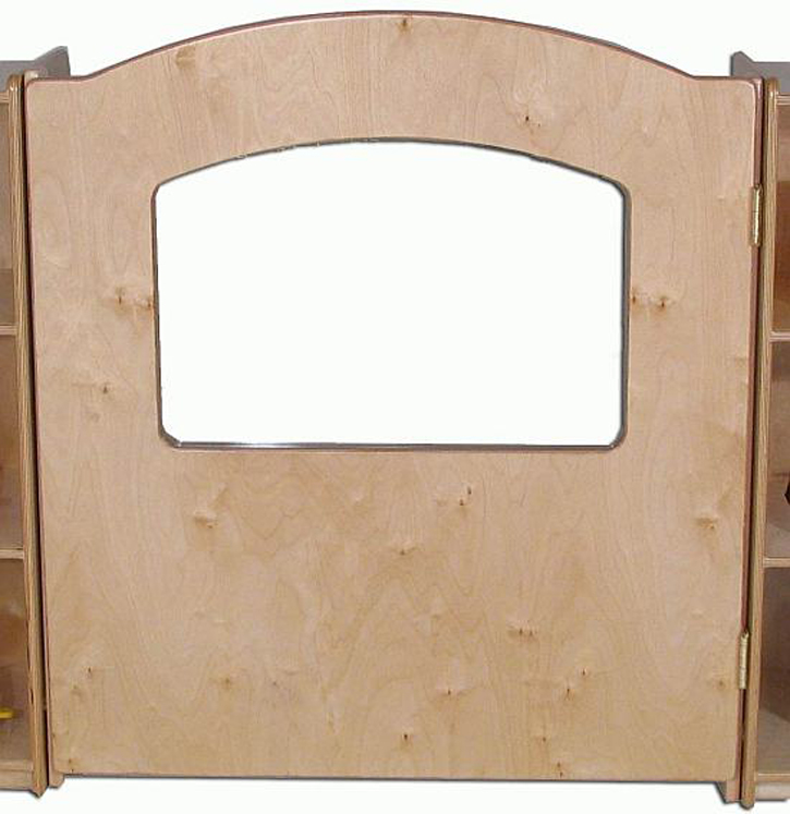 Mainstream Economy Wave Style Short Door, 36'' Wide